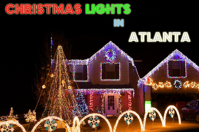 Homes with Christmas Lights Shows In Atlanta