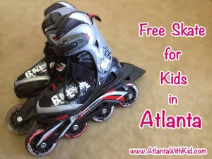 Free Roller Skate for Kids in Atlanta