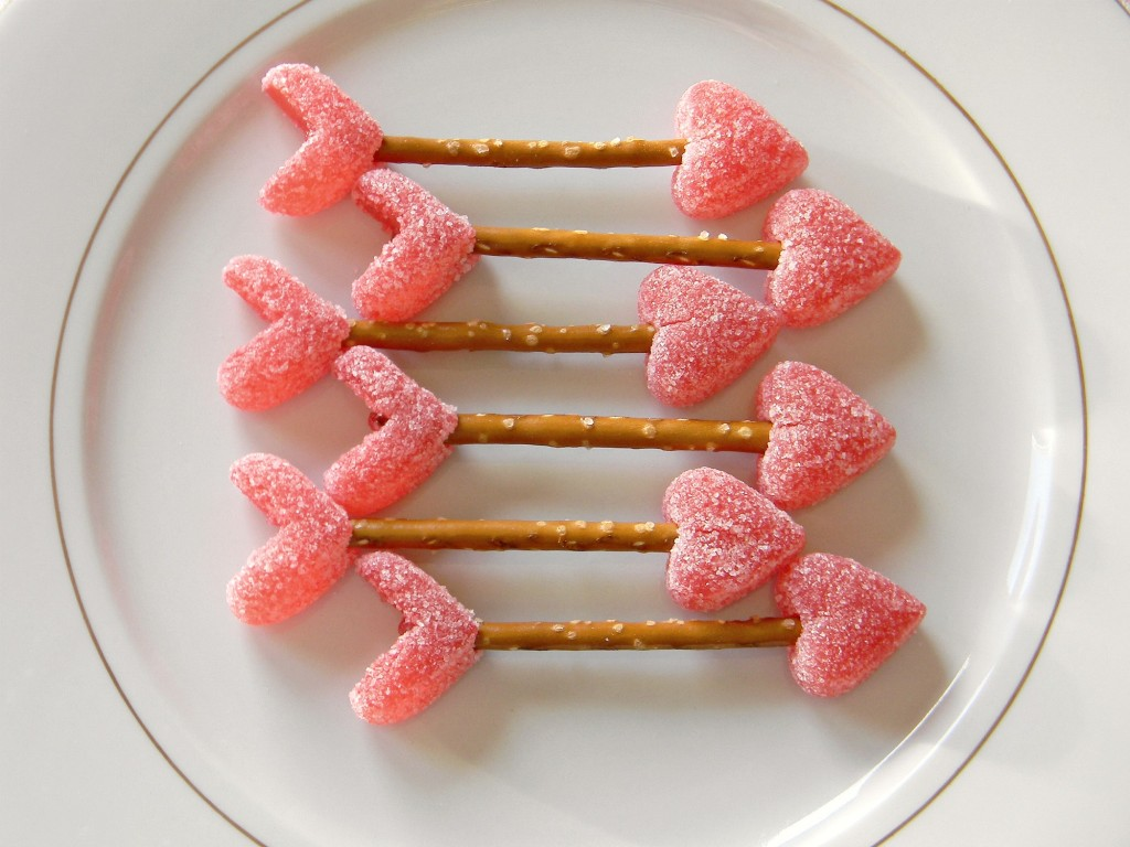 Valentine's Day treat cupids-arrows