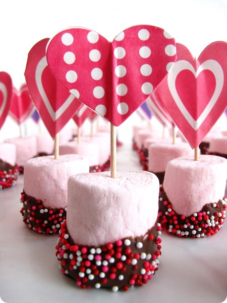 valentines day snack marshmallows