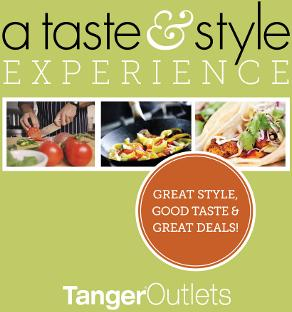 A taste and style experience event