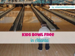 Kids Bowl Free in Atlanta