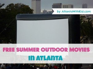 FREE Outdoor movies in Atlanta